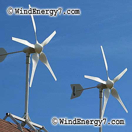sort of wind turbine