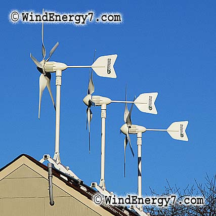 WindEnergy7 Home Wind Turbine Kits, Residential Wind Power Kits