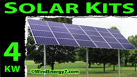  4kw solar panel kits - solar panels cost - solar panels