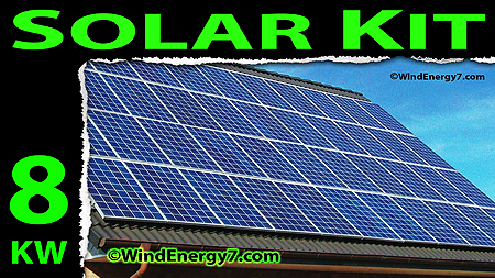 8kw solar panel kits - solar panels cost - solar panels