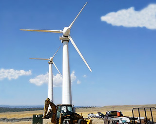 ballinger texas school wind energy project