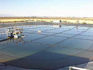 el paso solar energy pond