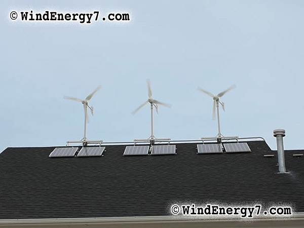 The Gallery For Rooftop Wind Turbine
