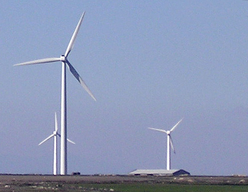 illinois school wind energy windmill
