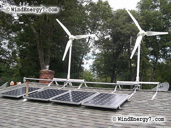 wind-energy wind turbine rooftop wind solar hybrid